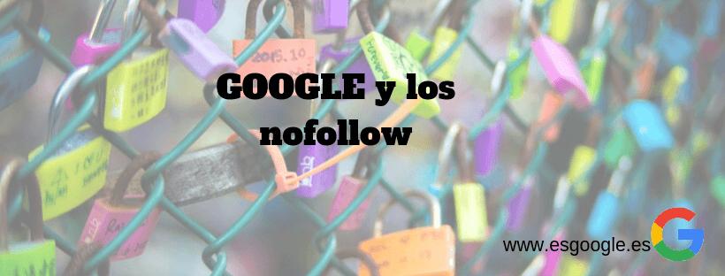 Google y los enlaces nofollow