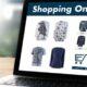 texto en categorias de tienda online